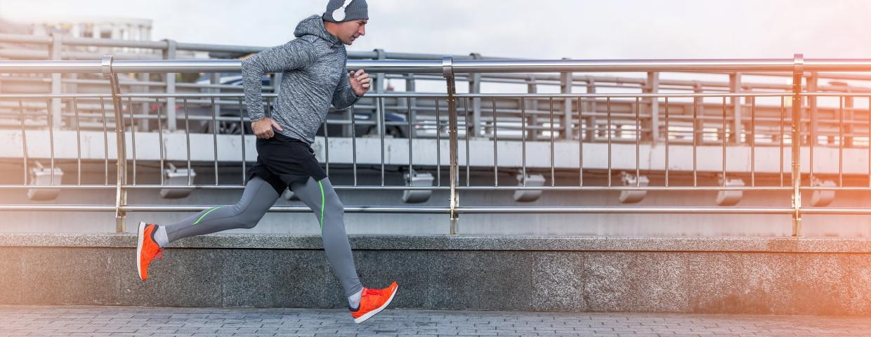 energized man running