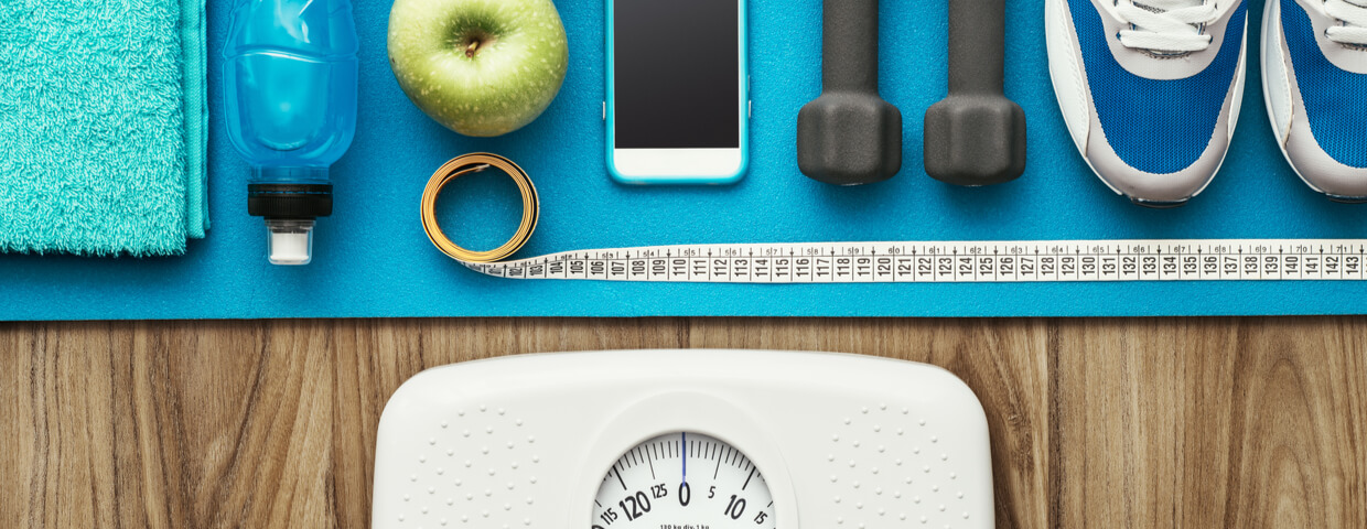 Improve the balance of hormones for weight loss with healthy foods, regular exercise, and plenty of water.